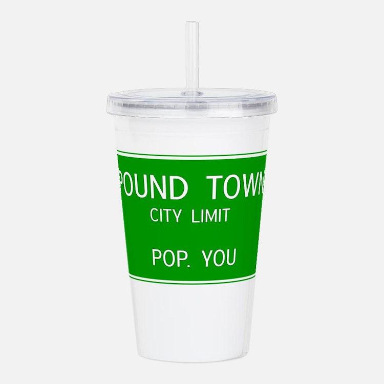 Poundown City Limits Acrylic Double-wall Tumbler