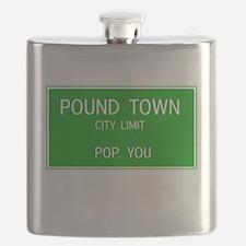 Poundown City Limits Flask