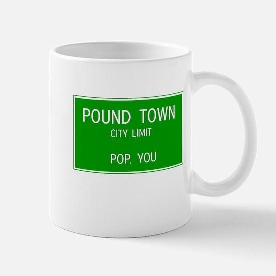 Poundown City Limits Mugs
