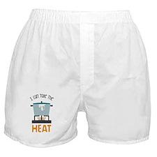 Stove Burner Take Heat Boxer Shorts