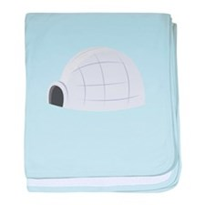 Eskimo Igloo baby blanket