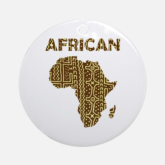 African Art Ornament (Round)