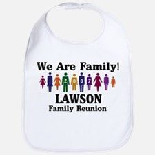 LAWSON reunion (we are family Bib