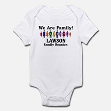 LAWSON reunion (we are family Infant Bodysuit