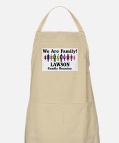 LAWSON reunion (we are family BBQ Apron