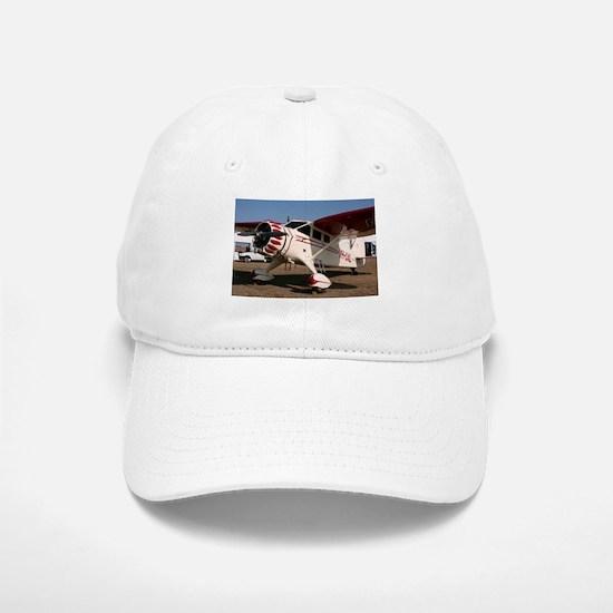 Stinson Aircraft (red & white) Baseball Baseball Cap
