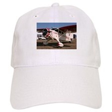 Stinson Aircraft (red & white) Baseball Cap