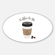 Coffee to Go Decal