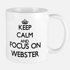 Keep calm and Focus on Webster Mugs