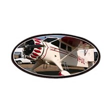 Stinson Aircraft (red & white) Patches