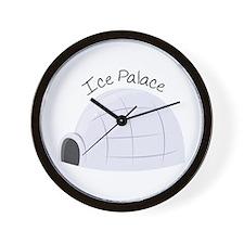 Ice Palace Wall Clock