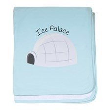 Ice Palace baby blanket