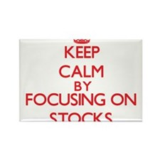 Keep Calm by focusing on Stocks Magnets