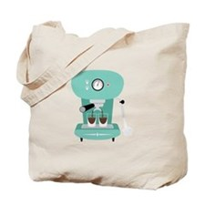 Espresso Coffee Machine Tote Bag