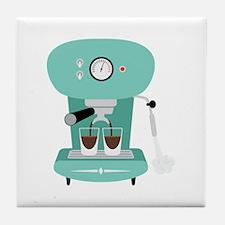 Espresso Coffee Machine Tile Coaster