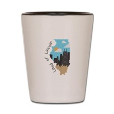Land of Lincoln Shot Glass