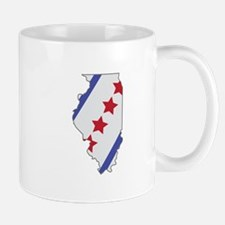 Illinois Map Mugs