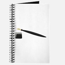 Calligraphy Pen Journal