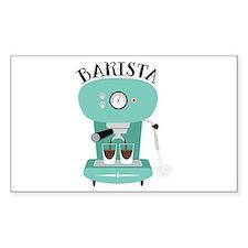 Coffee Machine Barista Decal