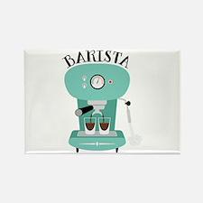 Coffee Machine Barista Magnets