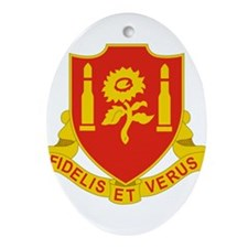 29 Field Artillery Regiment.psd.pn Ornament (Oval)