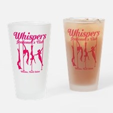 Whispers 2 Drinking Glass