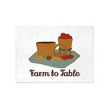 Farm to Table 5'x7'Area Rug