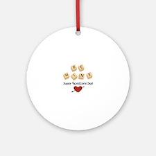 Be Mine Valentine Ornament (Round)