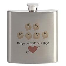 Be Mine Valentine Flask