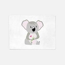 Koala Valentine 5'x7'Area Rug