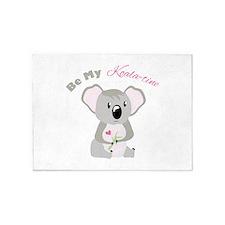 Be My Koala Time 5'x7'Area Rug