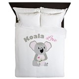 Koala bear Luxe Full/Queen Duvet Cover