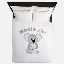 Koala Love Queen Duvet