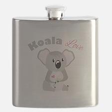 Koala Love Flask