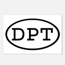 DPT Oval Postcards (Package of 8)