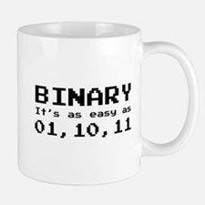Binary It's As Easy As 01,10,11 Mug