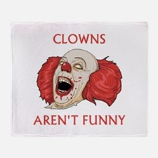 Clowns Aren't Funny Stadium Blanket