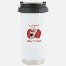 Clowns Aren't Funny Ceramic Travel Mug