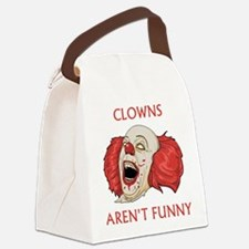 Clowns Aren't Funny Canvas Lunch Bag