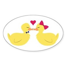 Kiss Ducks Decal