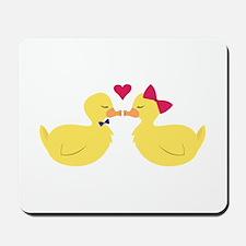 Kiss Ducks Mousepad
