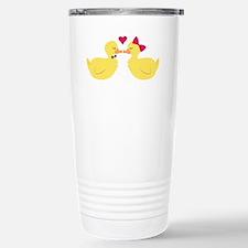 Kiss Ducks Travel Mug
