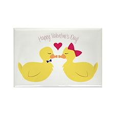 Valentines Ducks Magnets