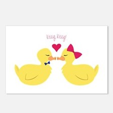 Kissy Kissy Postcards (Package of 8)