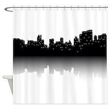 NYC Skyline Shower Curtain