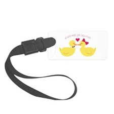 Made for Each Other Luggage Tag