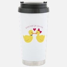 Made for Each Other Travel Mug