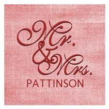 Personalized Family Name Mr Invitations