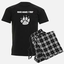 Pawprint Silhouette (Custom) Pajamas