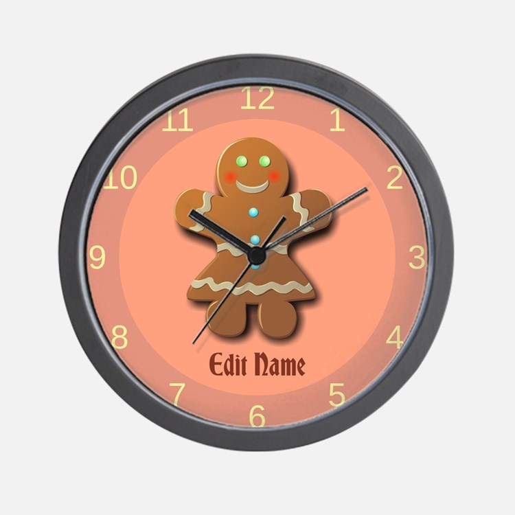 Gingerbread Clocks | Gingerbread Wall Clocks